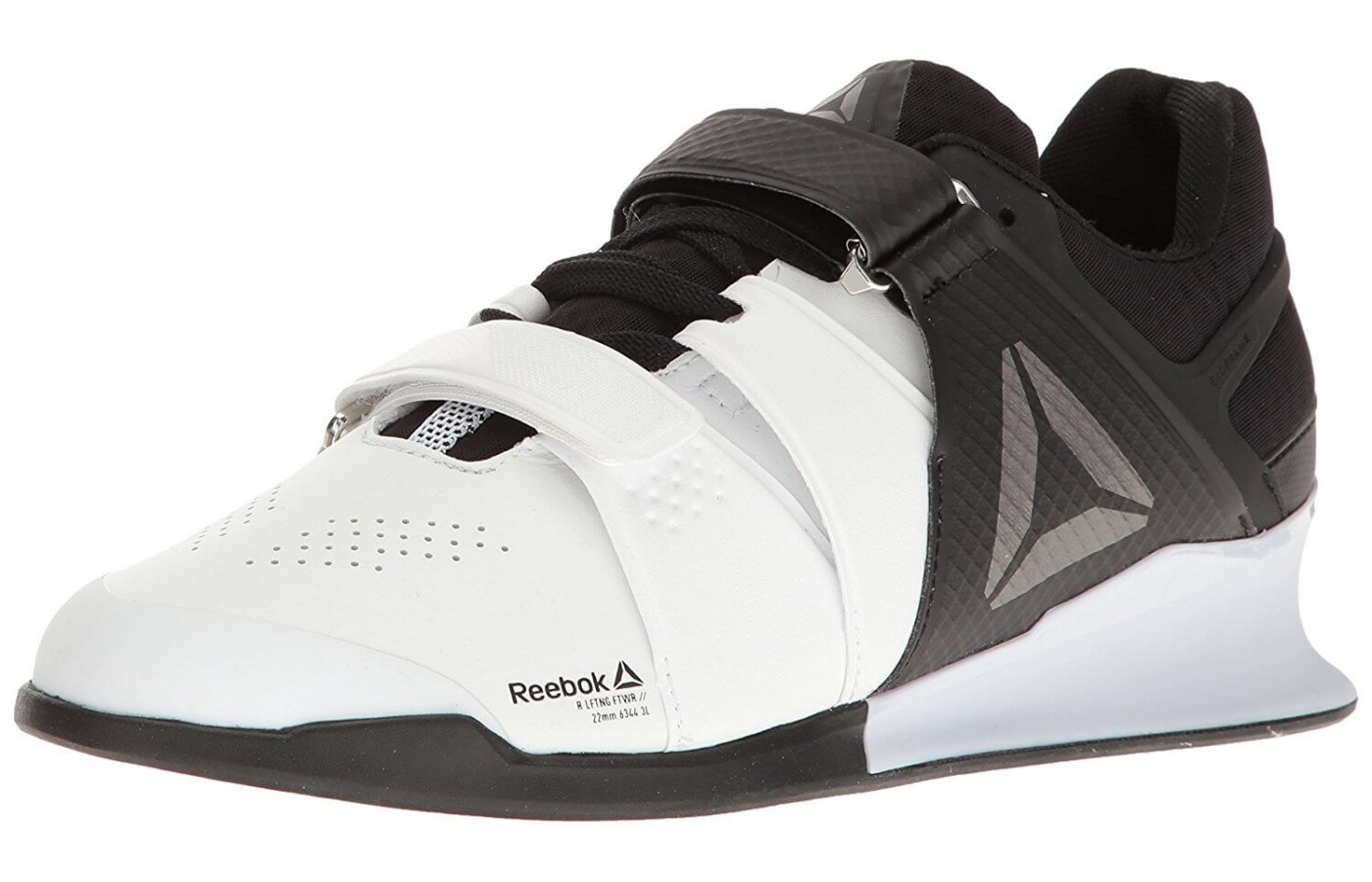 The Reebok Legacy Lifter features Flexcage technology