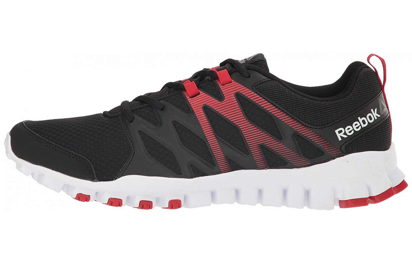 The Reebok RealFlex Train 4.0 features a 3DFuseFrame upper construction