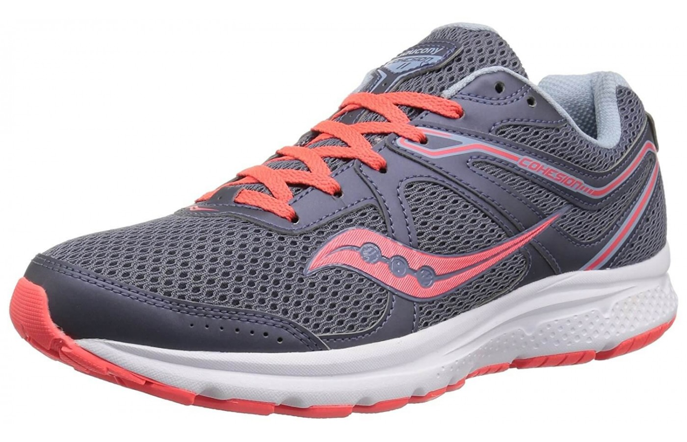 The Saucony Cohesion 11 features a REACT2U footbed