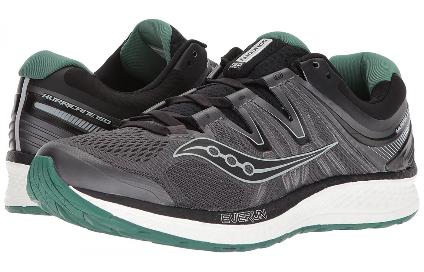 The Saucony Hurricane ISO 4 features an ISOFIT upper design