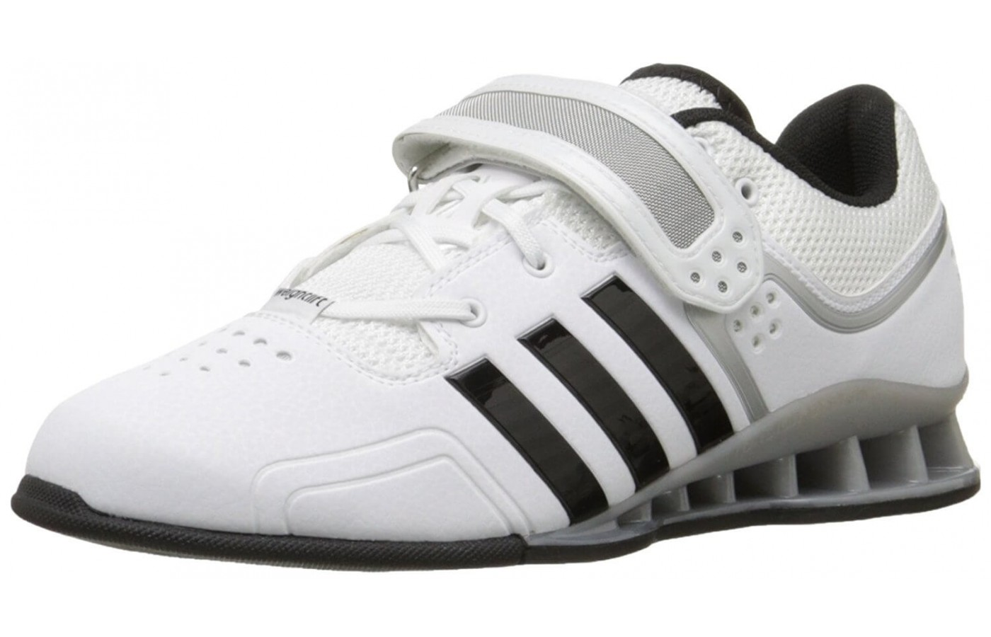The Adidas Adipower Weightlifting shoes are specifically designed for Olympic style weight lifting