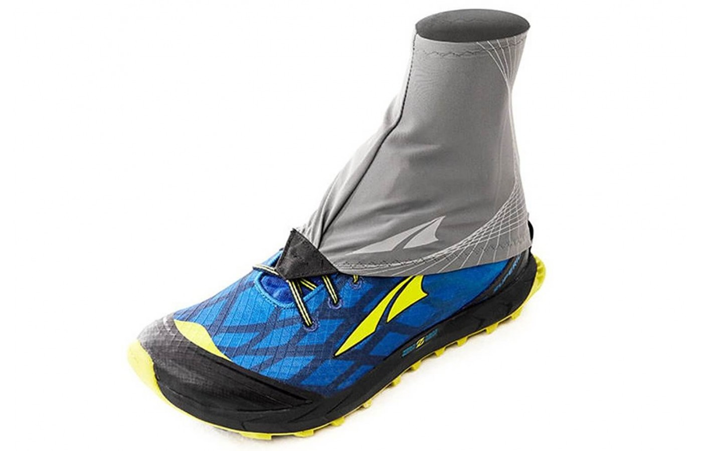 The Altra Trail Gaiters are designed to keep trail debris away from your foot during outdoor adventures.