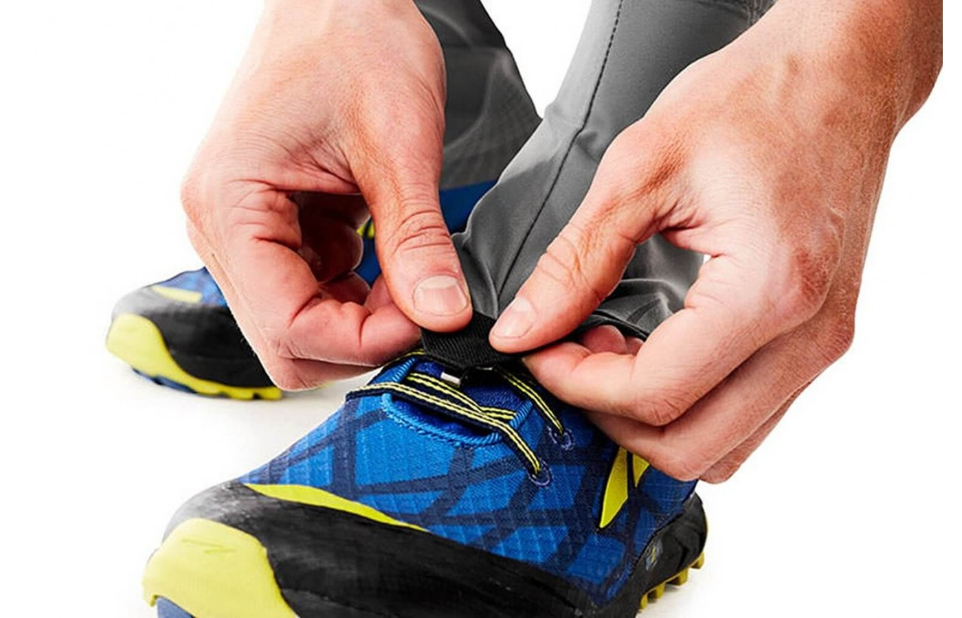 These gaiters are lightweight and breathable to provide a comfortable fit.