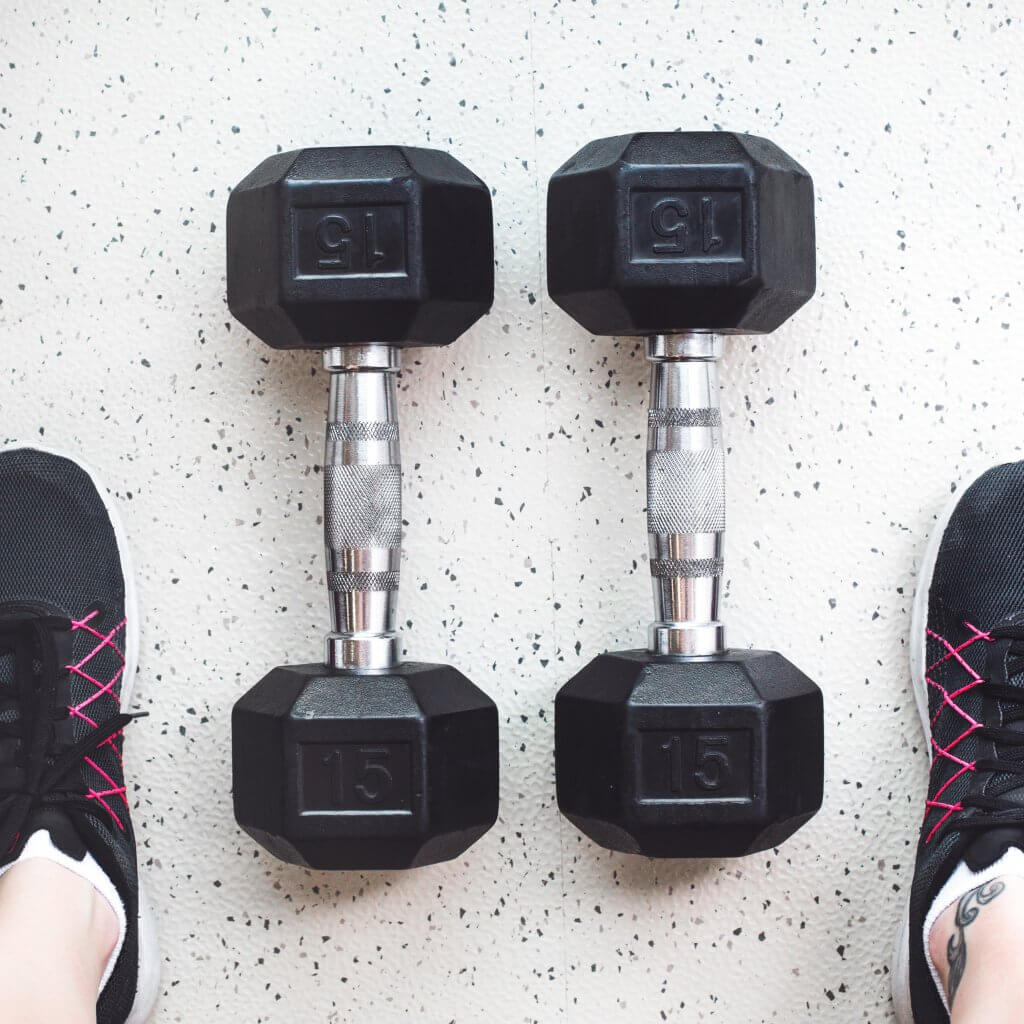 hand weights for home workout equipment