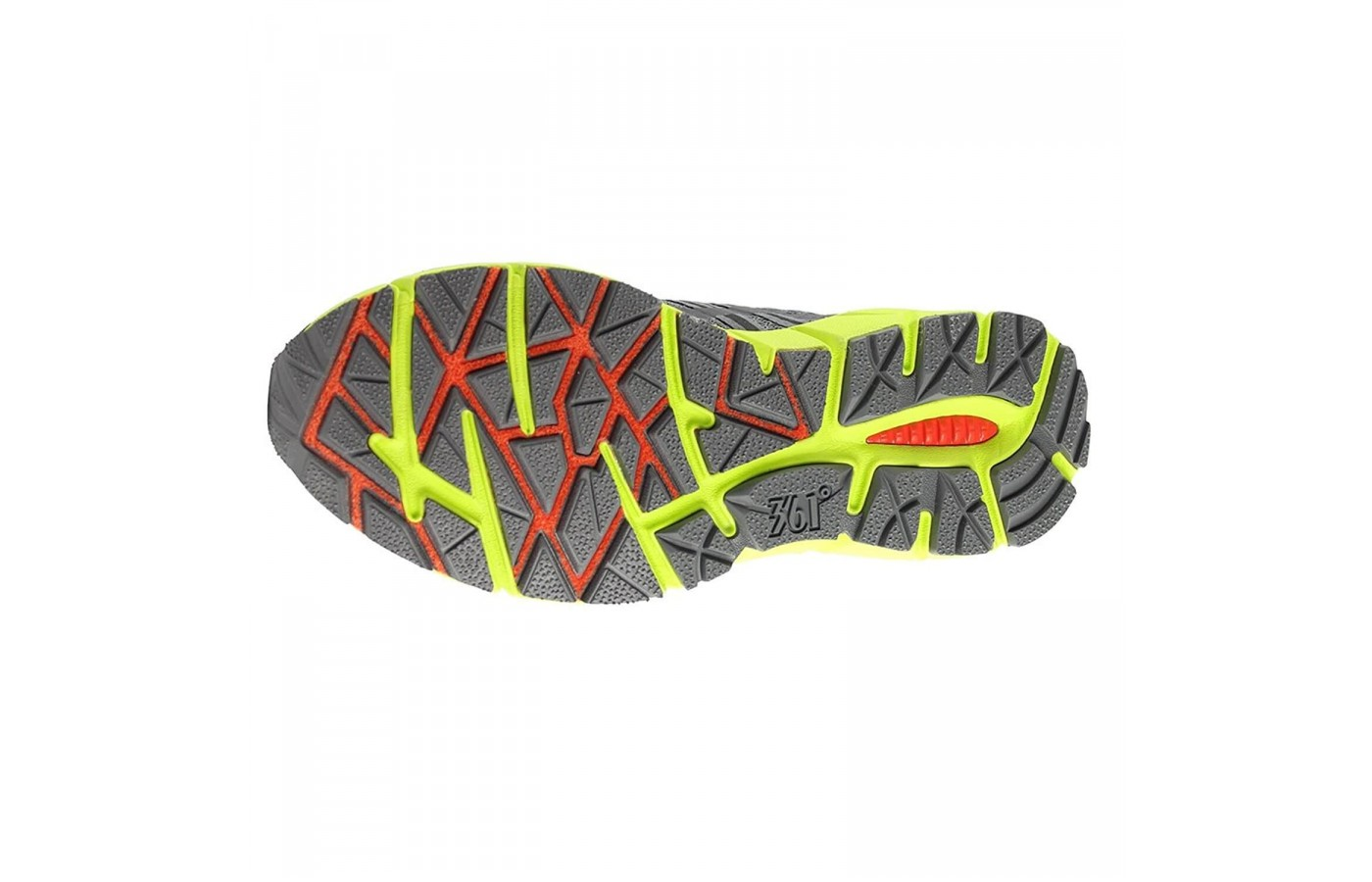 The 361 Ortega 2 doesn't have the same treading or lug placement as other trail running shoes.