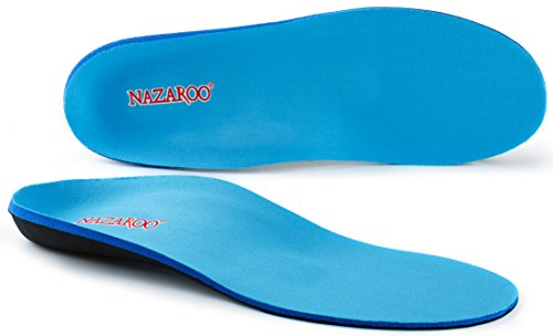 Nazaroo. Orthotic Insoles for Flat Feet and Plantar Fasciitis