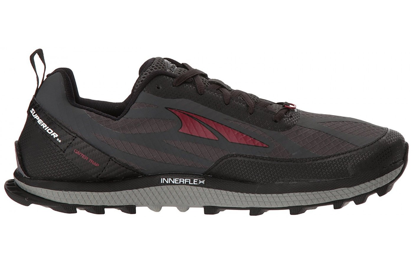 EVA cushioning for the Altra Superior 3.5's midsole provides responsiveness and flexibility.