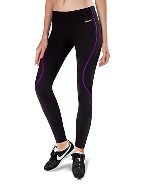 3. Baleaf Women's Thermal Fleece Athletic Running Cycling Tights Pants