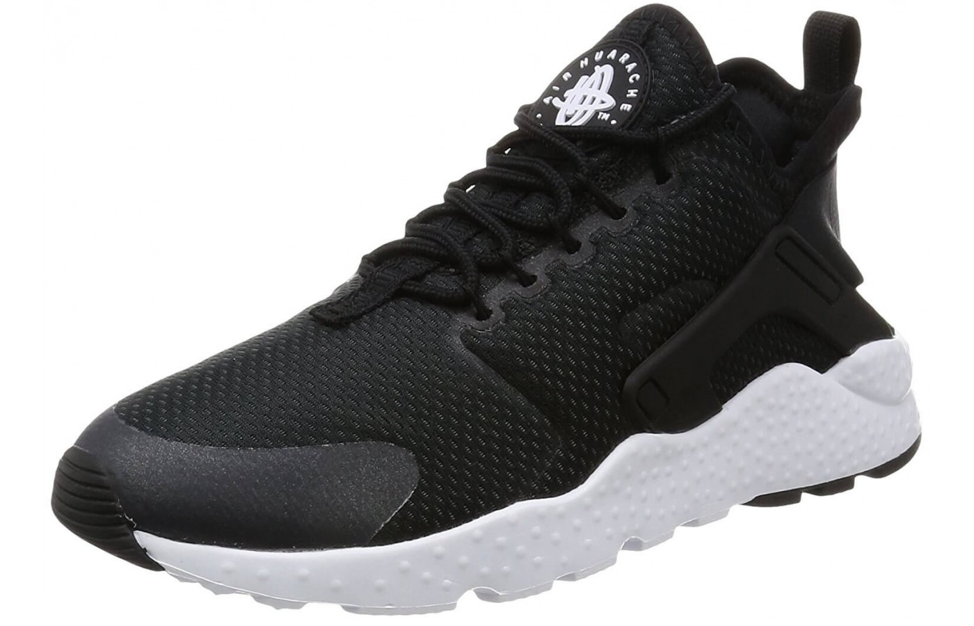 Although the Nike Air Huarache Ultra has a slight heel drop, it is much less than that of traditional running shoes.