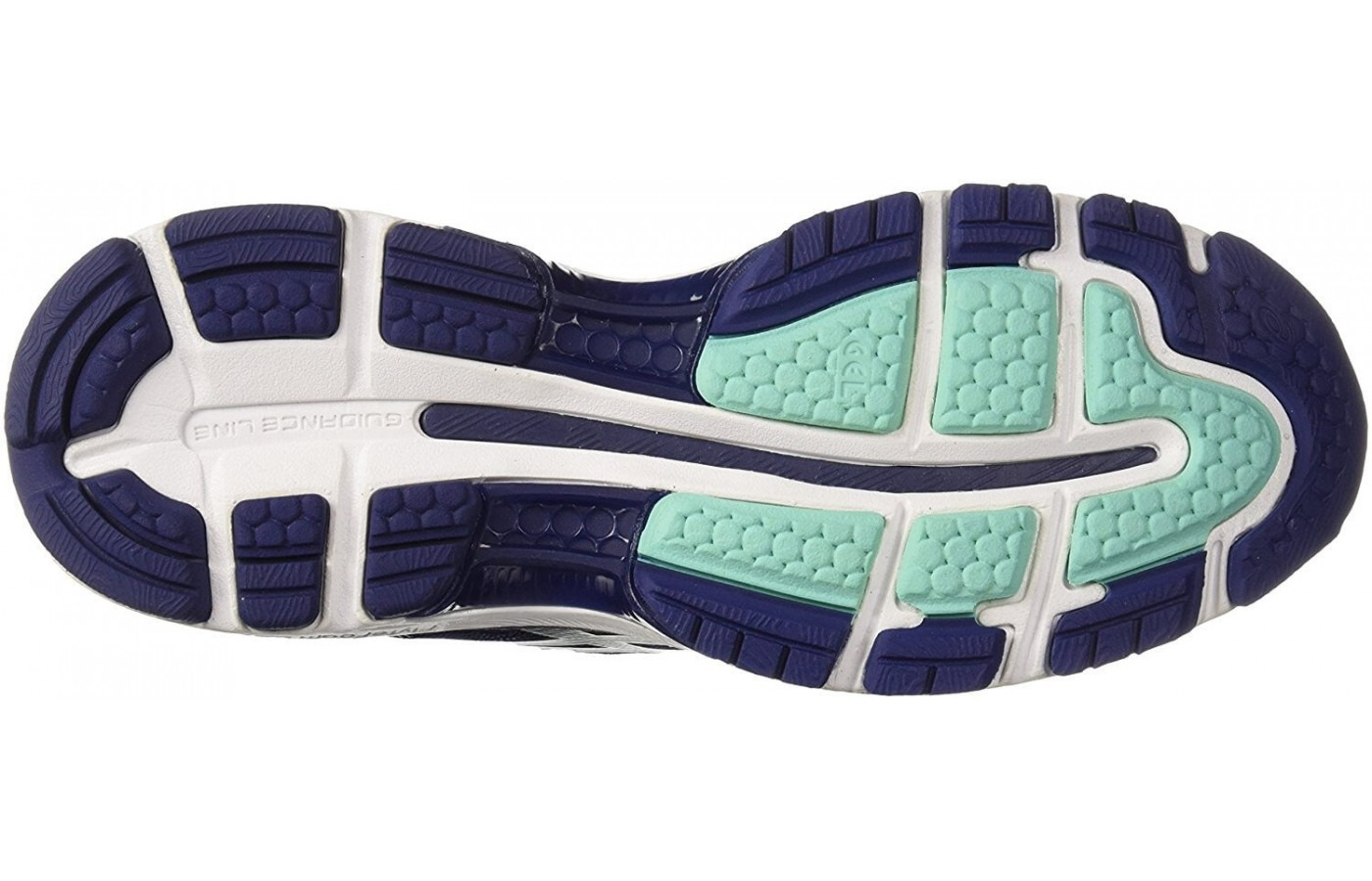 For added flexibility and to improve the gait cycle, runners will find a vertical flex groove down the center of the outsole.