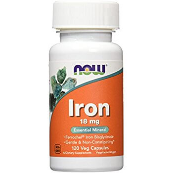 1.  Now Iron Essential Mineral 18mg