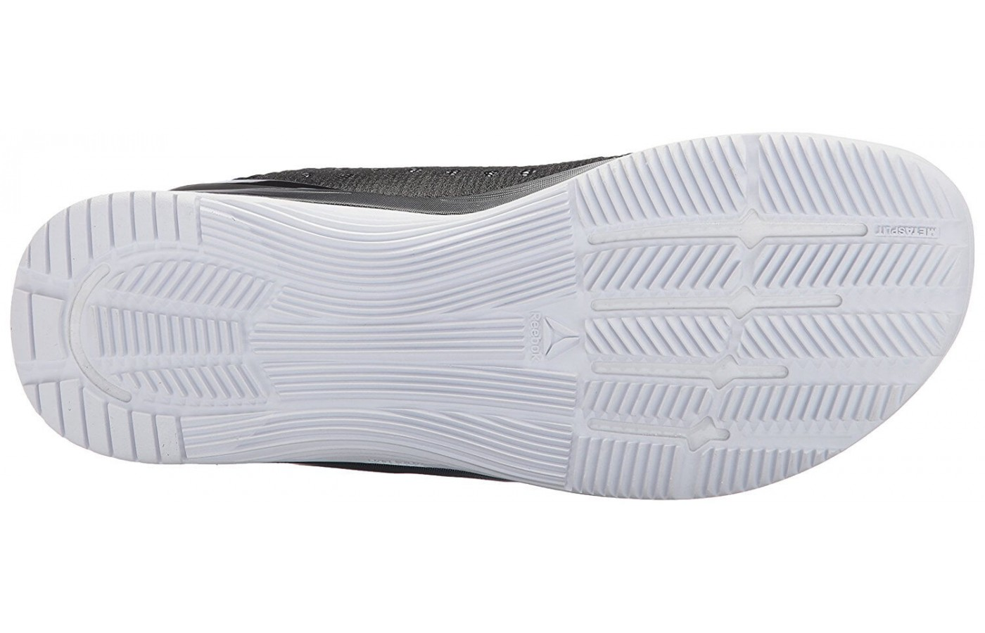 The outsole of the Reebok Crossfit Nano 7 Weave was designed to provide traction and protection indoors.