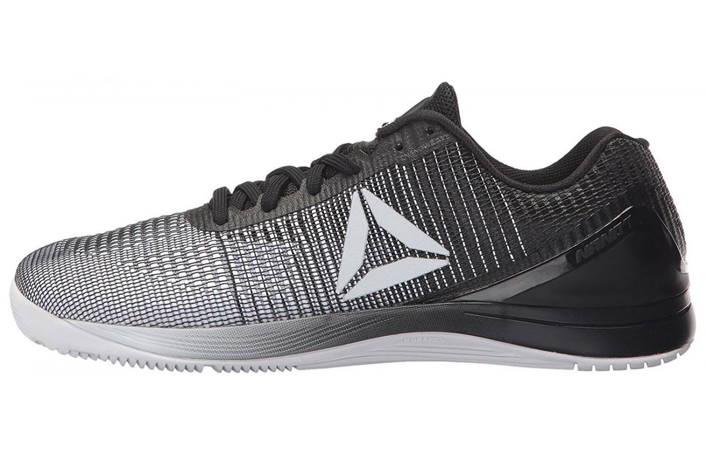 Due to the newly designed upper, the Reebok Crossfit Nano 7 Weave closely resembles traditional running shoes.