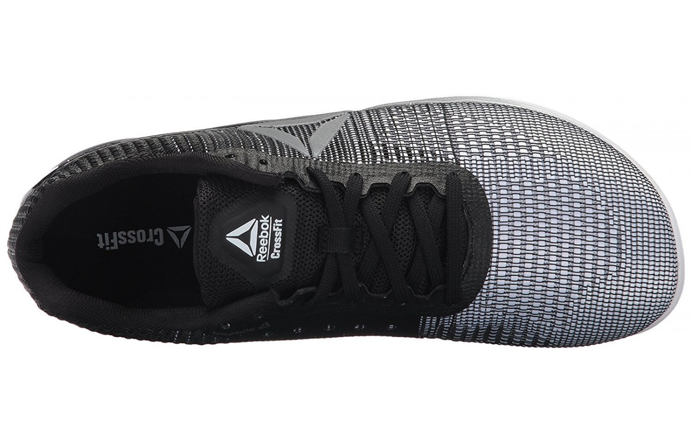 The Reebok Crossfit Nano 7 Weave's upper is made from similar material to Nike's Flyknit footwear.