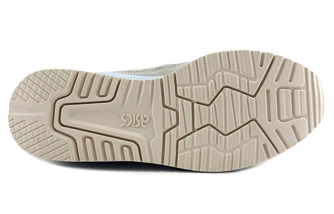 The Asics Gel Lyte III has a thick rubber outsole