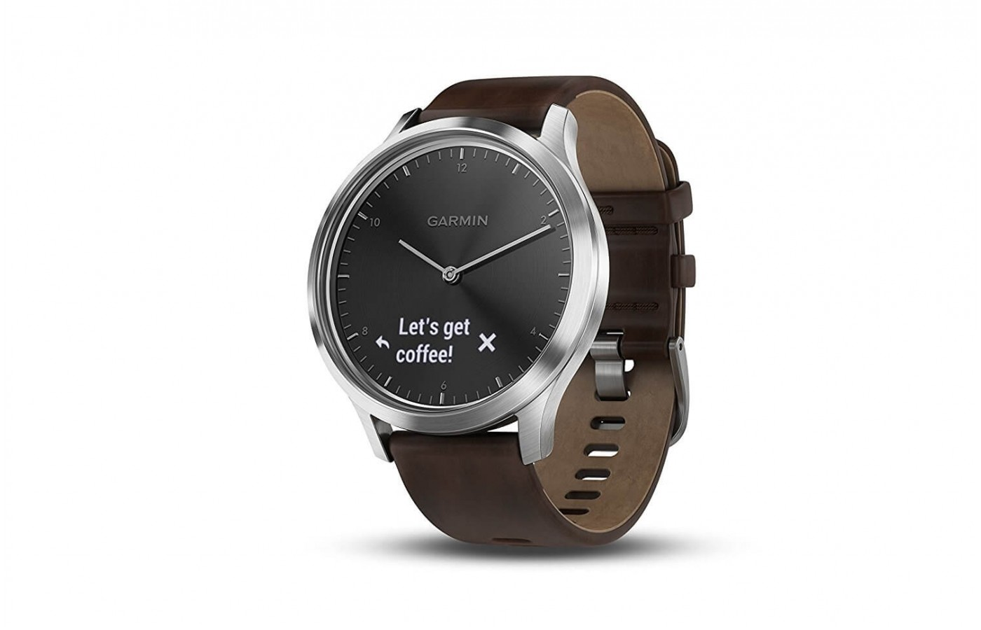 The Garmin Vivomove HR is TrueUP and MoveIQ enabled
