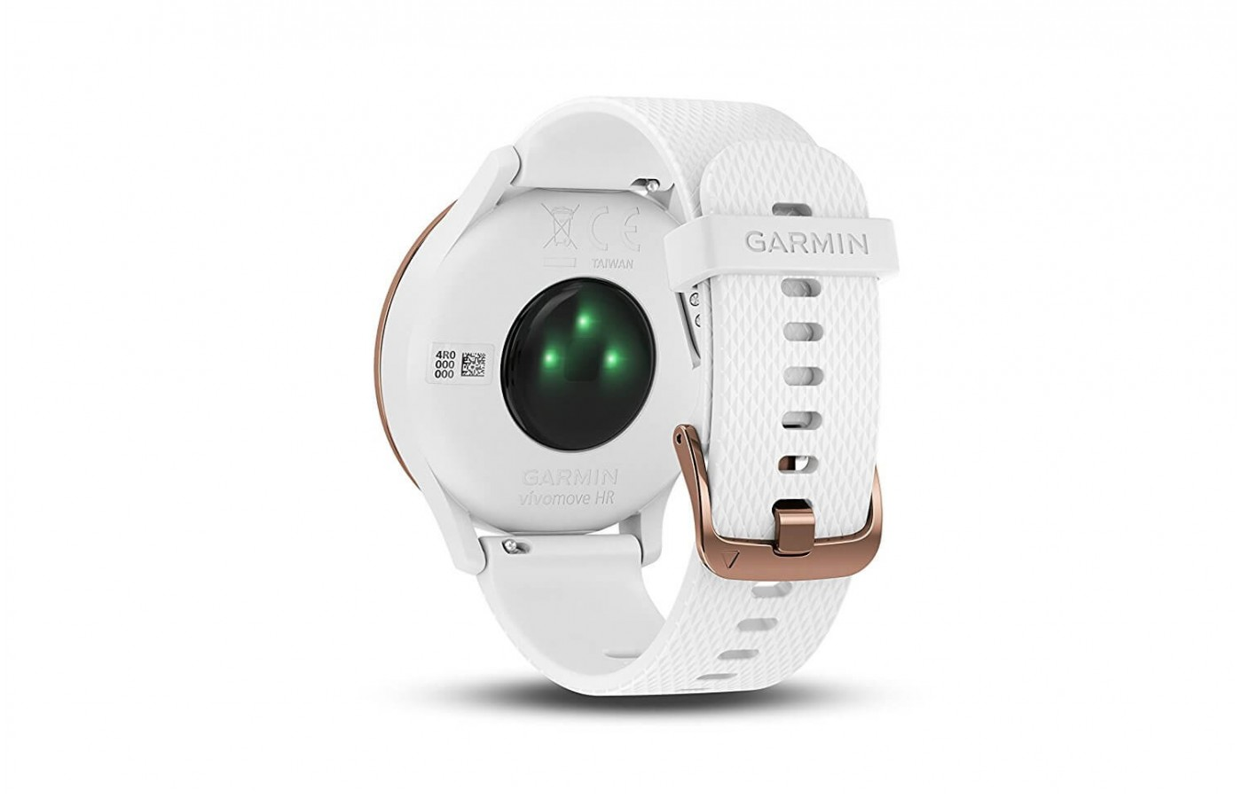 The Garmin Vivomove HR measures stress levels using heart rate variability