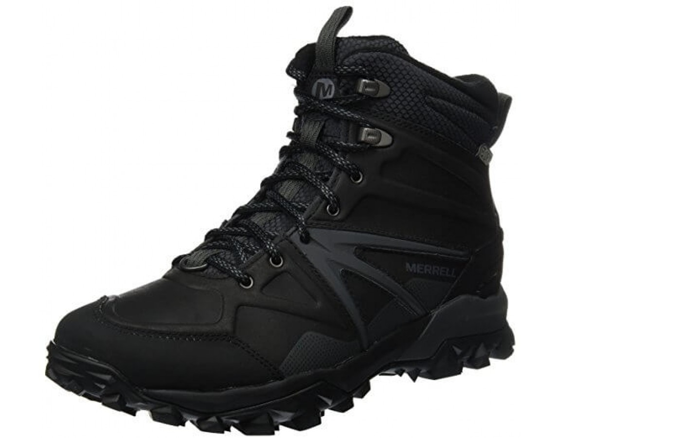 The Merrell Capra Glacial Ice angled perspective