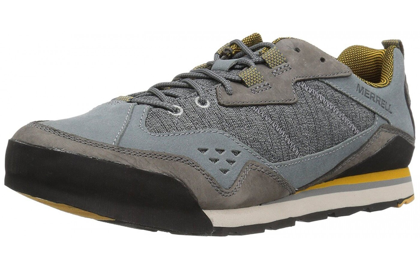 The Merrell Burnt Rock features Air Cushioning in its heel
