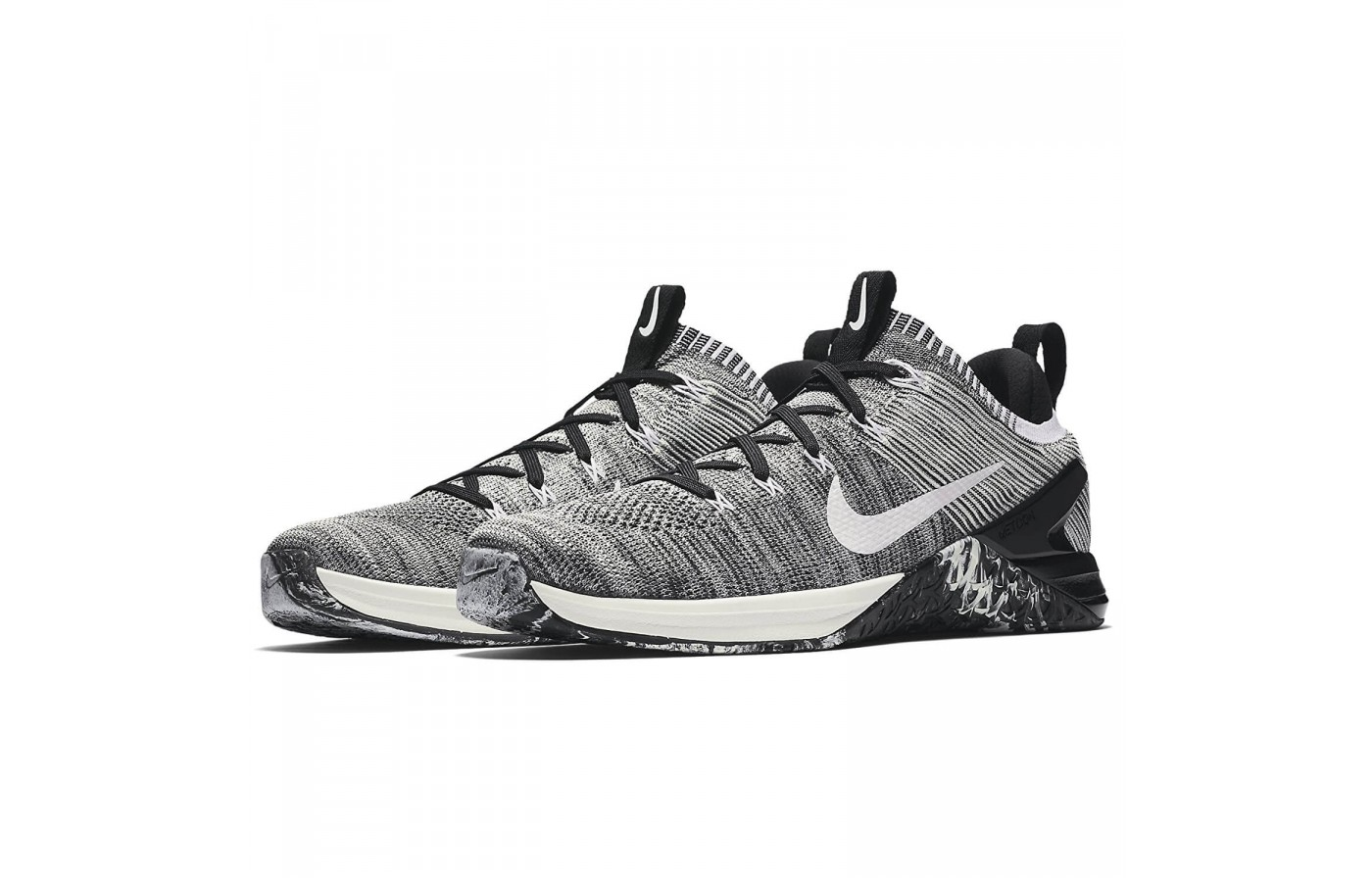 The Nike Metcon DSX Flyknit 2 has a clever rubber wrap around its midsole to ensure users are afforded traction for a multitude of activities