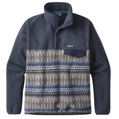 6. Patagonia Lightweight Synchilla Snap-T