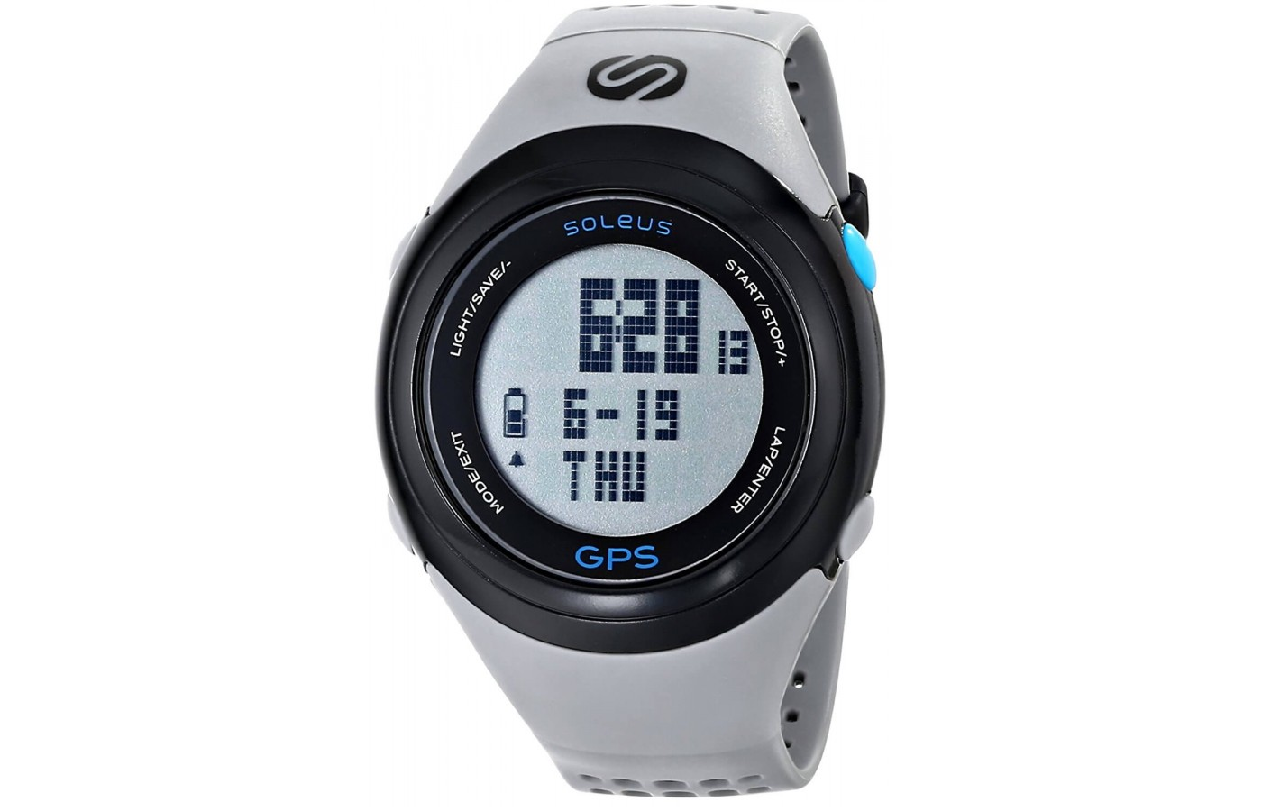 The Soleus GPS Fit 1.0 features a stopwatch function