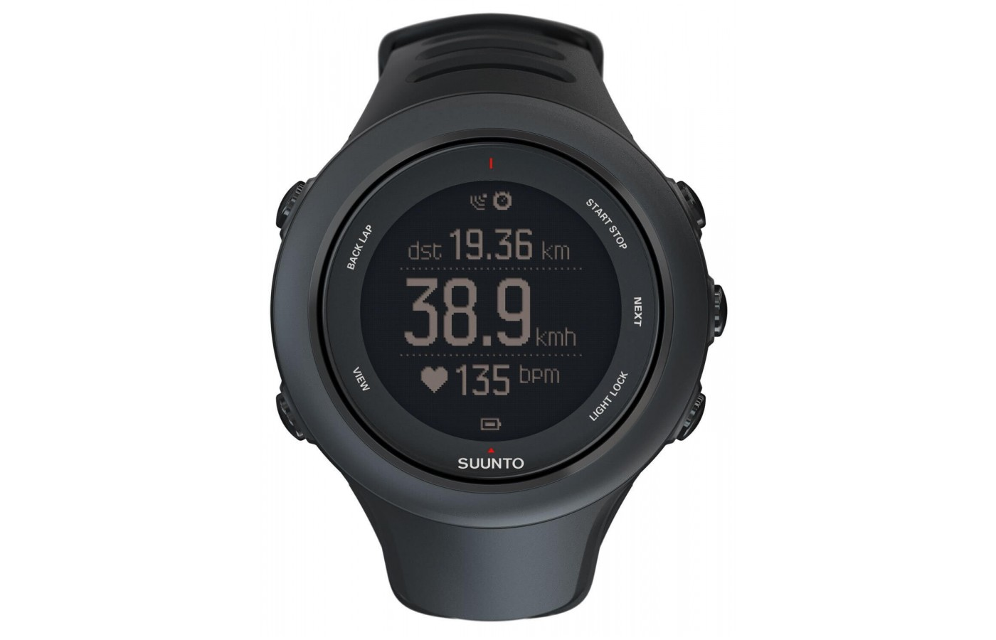 The Suunto Ambit3 Sport is GPS enabled