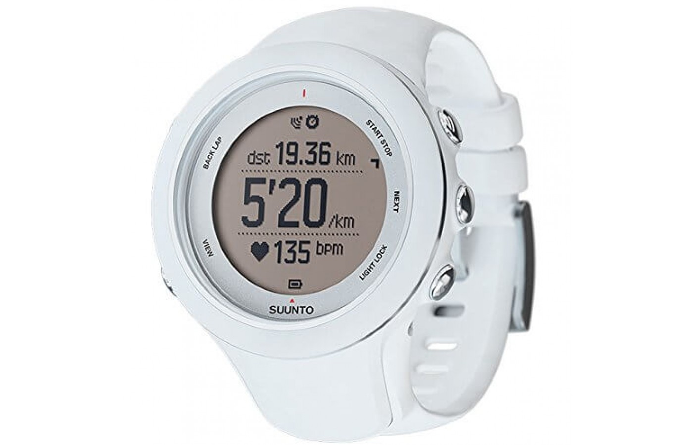 The Suunto Ambit3 Sport charges via USB