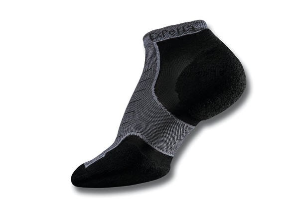 The best Thorlos socks are lightweight, haveing padding and prevent blisters like the Experia running socks.
