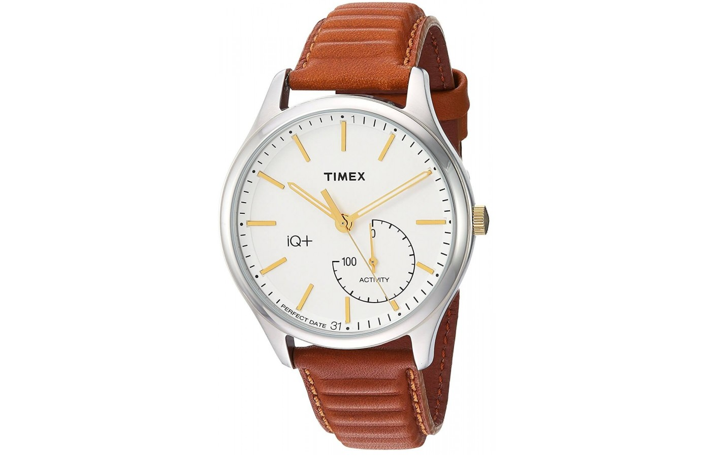 The Timex IQ + Move provides daily fitness tracking including sleep monitoring
