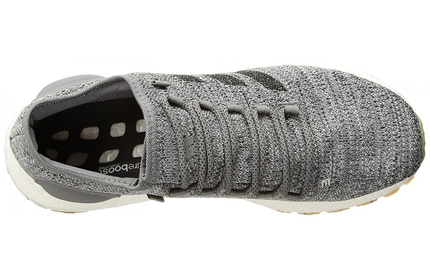 The top of the Adidas Pureboost All-Terrain.
