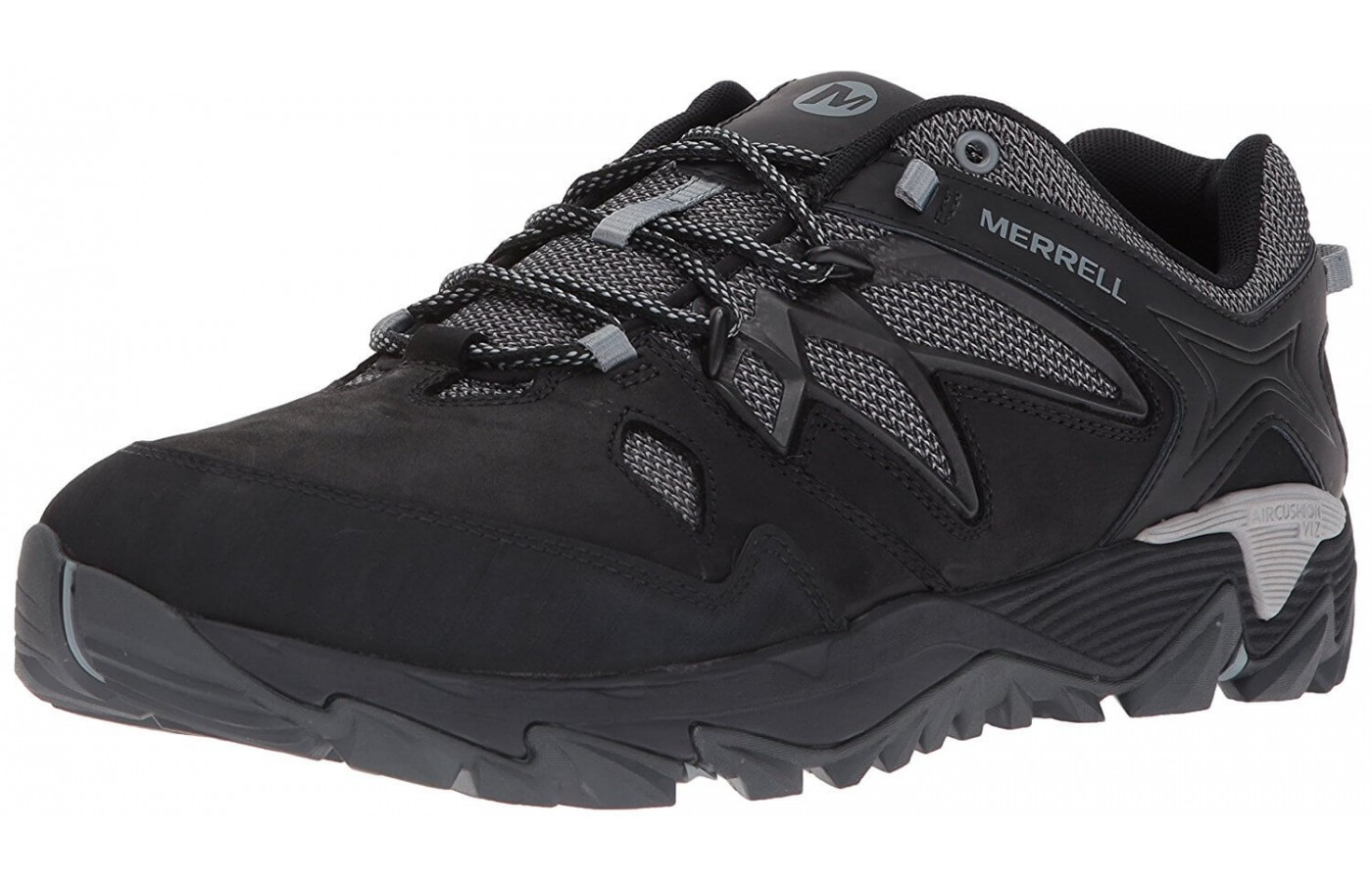 An angled view of the Merrell All Out Blaze 2.