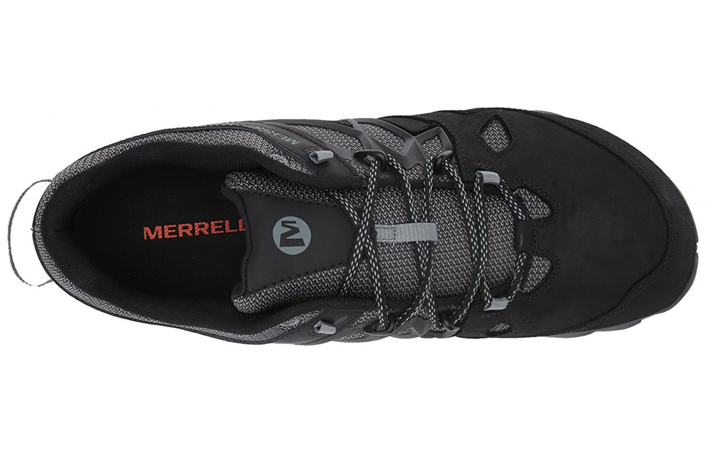 The upper half of the Merrell All Out Blaze 2.