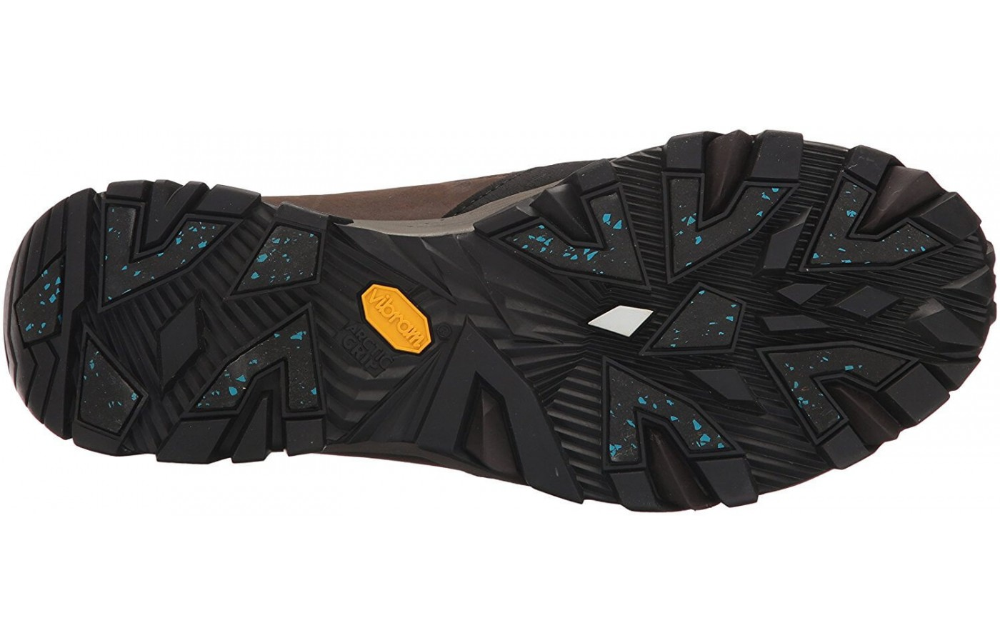 A bottom view of the Merrell ColdPack Ice.