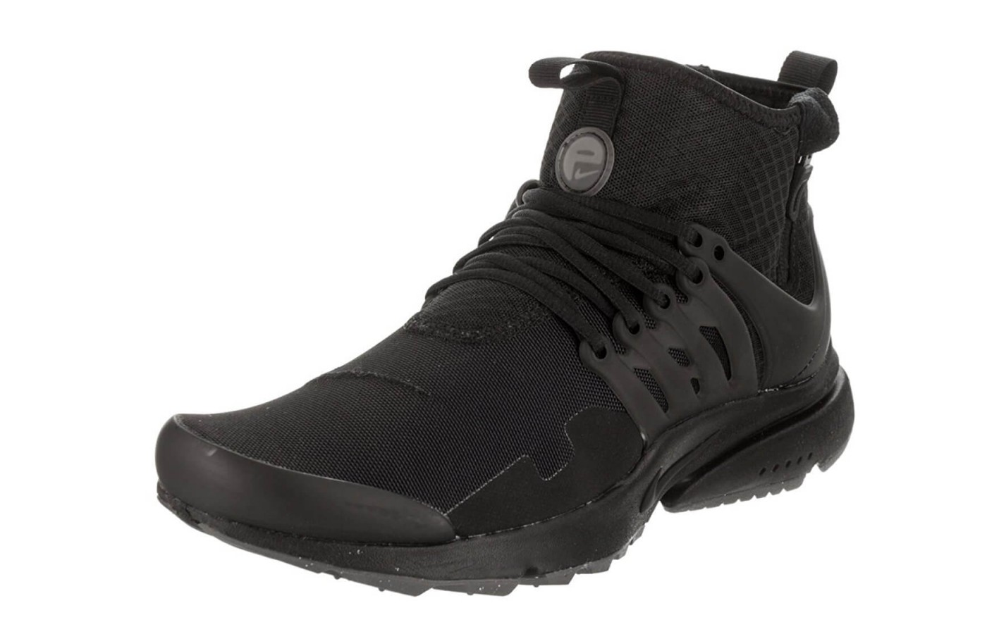 An angled view of the Nike Air Presto Mid Utility.