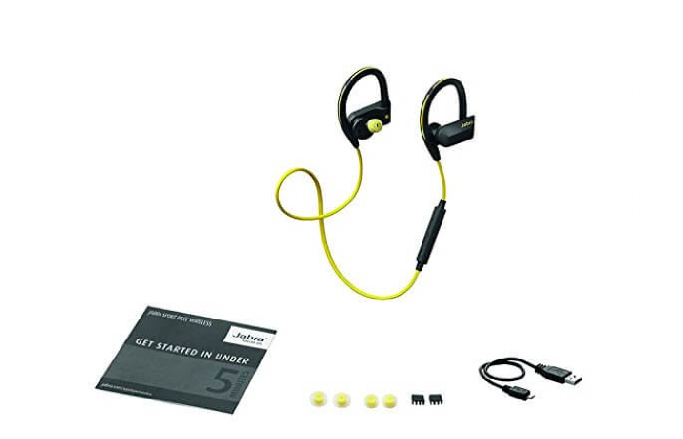 what the Jabra Sport Pace includes
