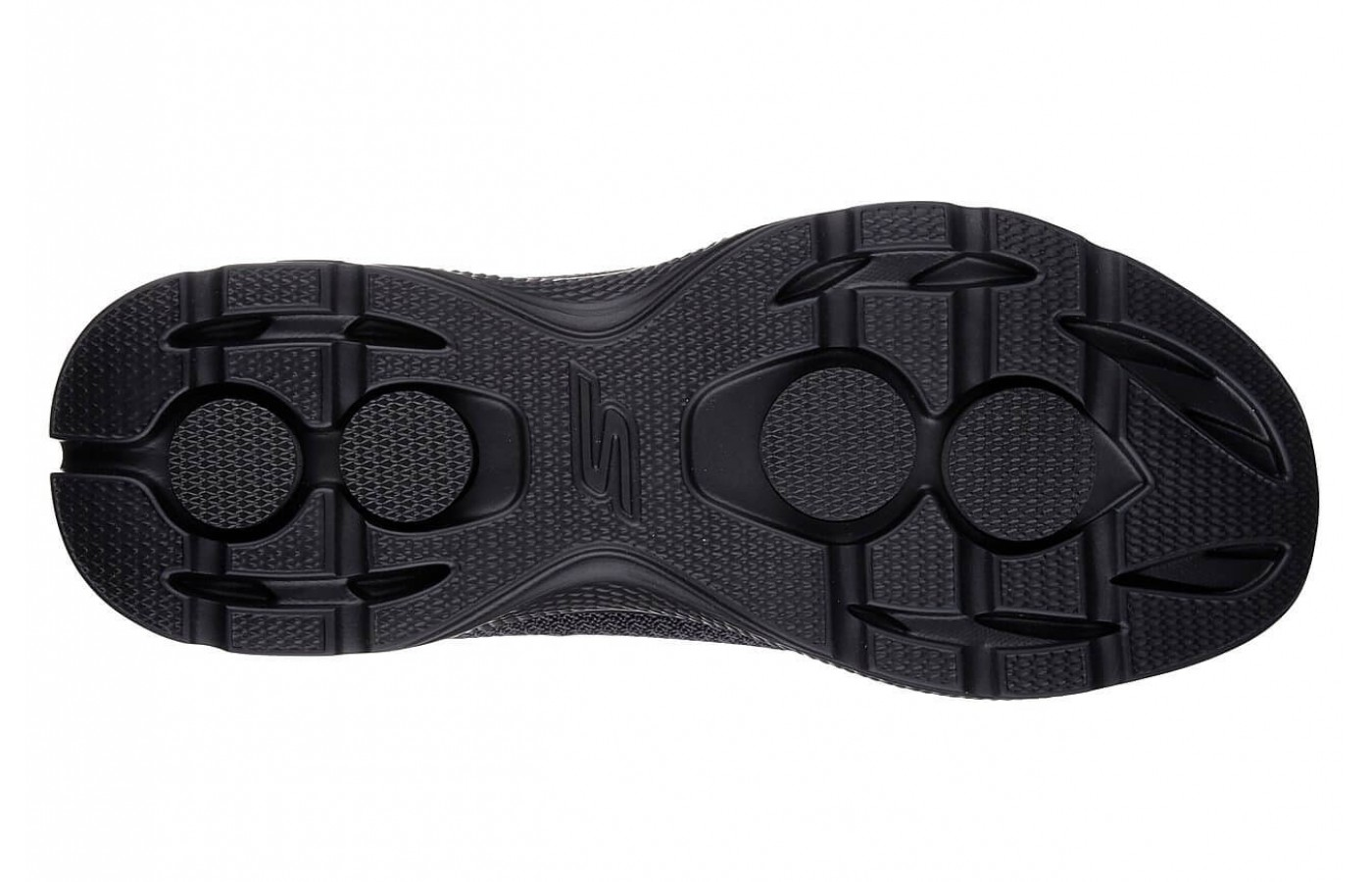 A bottom view of the Skechers GoWalk 4.