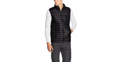 The best hiking vests are warm and have moisture wicking properties like the Mountain Hardwear Ghost Whisperer Down Vest.