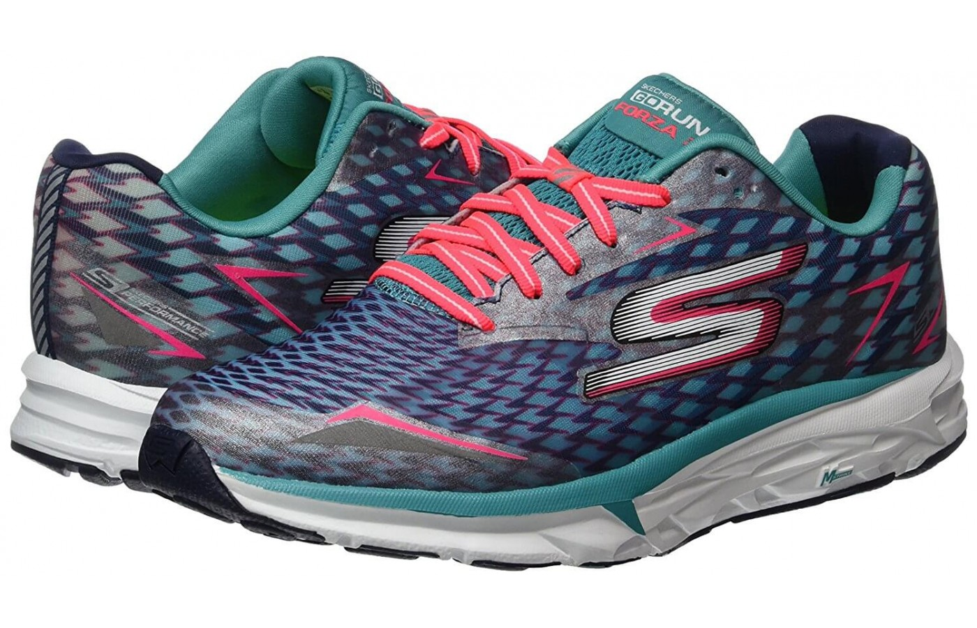 The Skechers GoRUN Forza 2 features reflective detailing