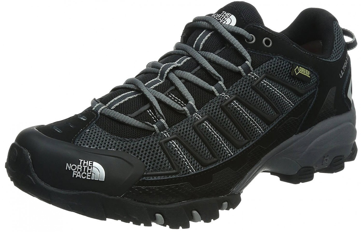 The The North Face Ultra 110 GTX features an EVA midsole