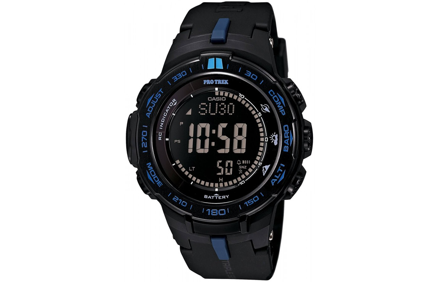This watch is designed for the extreme outdoors person.