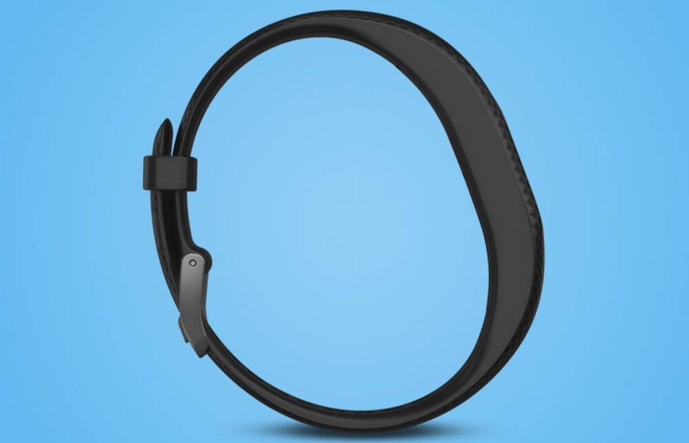 The thin, flexible band is durable and comfortable.