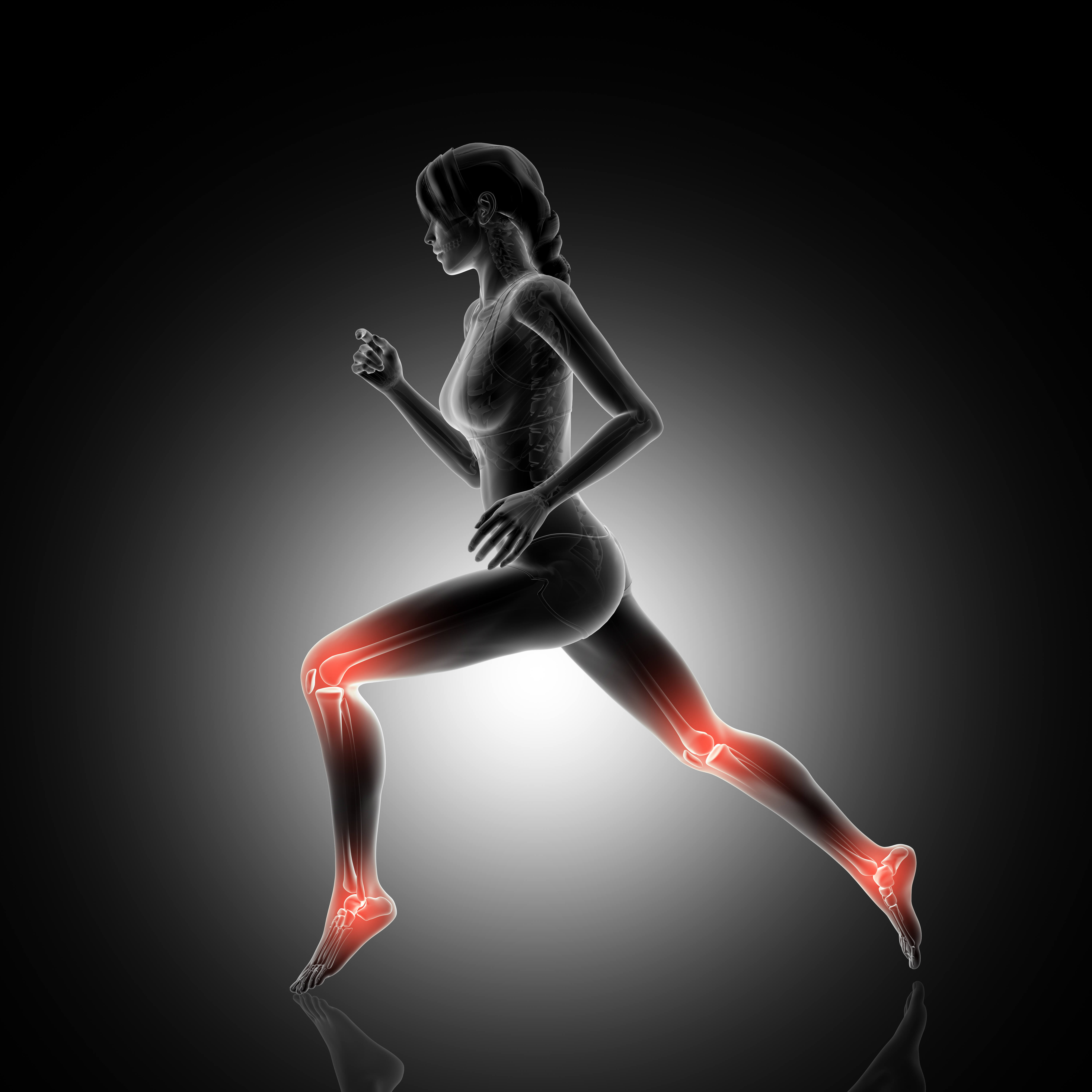 """<a href=""""https://www.freepik.com/free-photo/3d-render-of-a-female-figure-jogging-with-knee-and-ankle-joints-highlighted_1219795.htm"""">Designed by Kjpargeter</a>"""