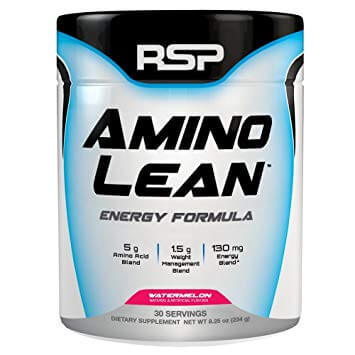 RSP Amino Lean best BCAA supplement review