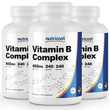 Nutricost  vitamin b supplement