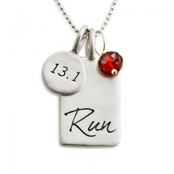 Believe in Your Run Necklace