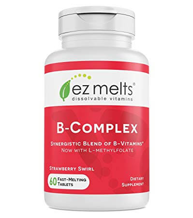 EZ Melts vitamin b supplement