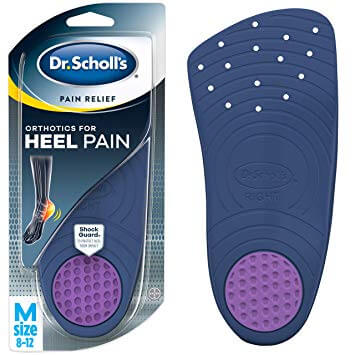 P.R.O. Pain Relief Orthotics for Heel Dr. Scholls insoles
