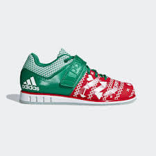 Adidas Powerlift 3 green and red model