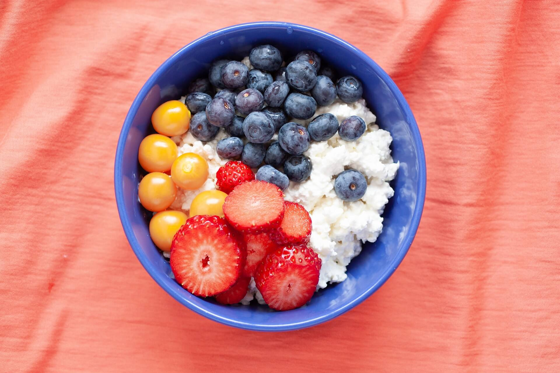 Cottage cheese is a perfect post-run food.